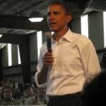 Obama Caught Flirting